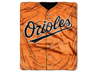 Baltimore Orioles Raschel 50x60 Strike Throw
