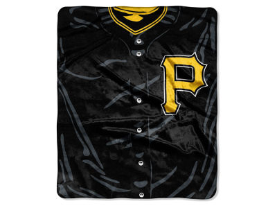 Pittsburgh Pirates Raschel 50x60 Strike Throw