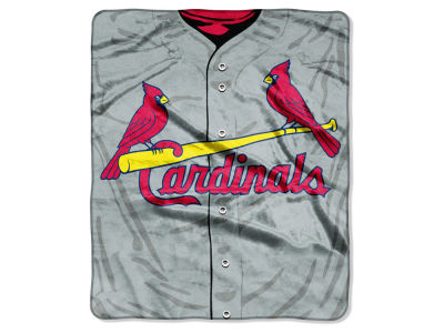 St. Louis Cardinals Raschel 50x60 Strike Throw