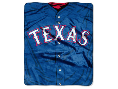 Texas Rangers Raschel 50x60 Strike Throw