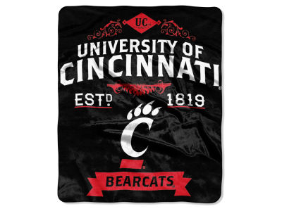 Cincinnati Bearcats Raschel 50x60 Rebel Throw