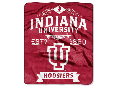 Indiana Hoosiers Raschel 50x60 Rebel Throw