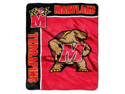 Maryland Terrapins Raschel 50x60 Rebel Throw