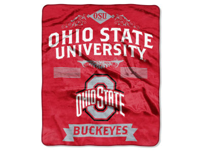 Ohio State Buckeyes Raschel 50x60 Rebel Throw