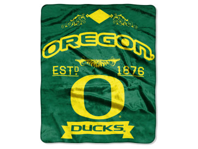 Oregon Ducks Raschel 50x60 Rebel Throw