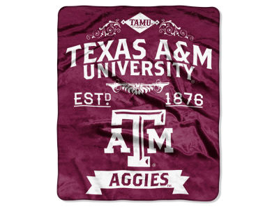 Texas A&M Aggies Raschel 50x60 Rebel Throw
