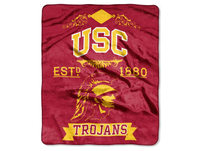 USC Trojans Raschel 50x60 Rebel Throw