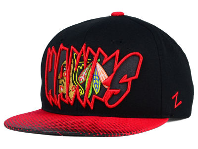 Chicago Blackhawks Zephyr NHL Youth Graffiti Adjustable Hat