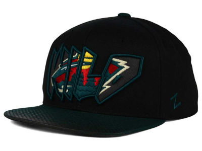 Minnesota Wild Zephyr NHL Youth Graffiti Adjustable Hat