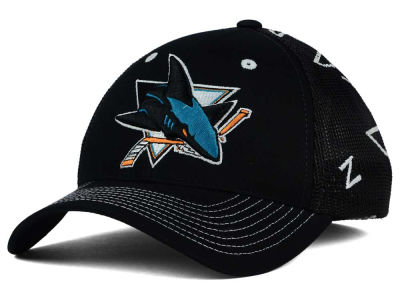 San Jose Sharks Zephyr NHL Screenplay Flex Hat