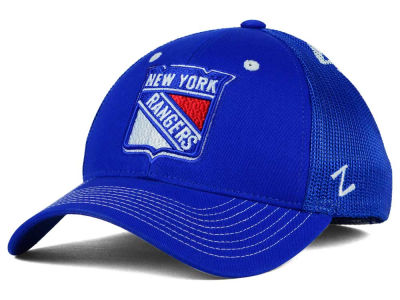 New York Rangers Zephyr NHL Screenplay Flex Hat