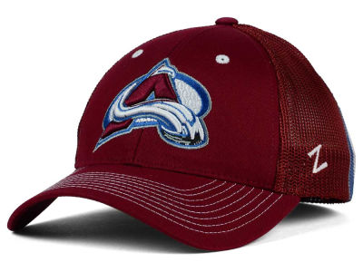 Colorado Avalanche Zephyr NHL Screenplay Flex Hat
