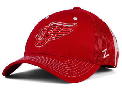 Detroit Red Wings Zephyr NHL Screenplay Flex Hat