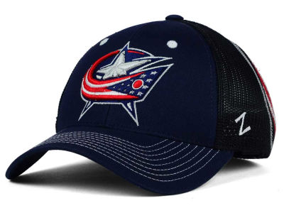 Columbus Blue Jackets Zephyr NHL Screenplay Flex Hat