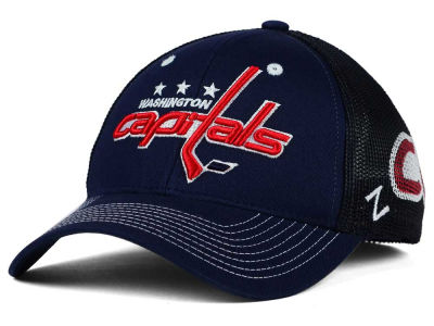 Washington Capitals Zephyr NHL Screenplay Flex Hat