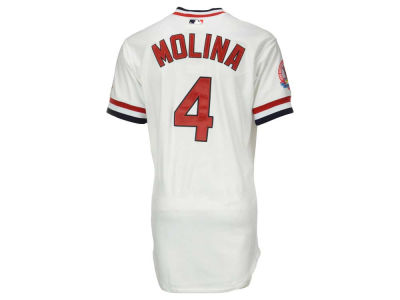 St. Louis Cardinals Yadier Molina MLB Men's TBTC Authentic On Field Jersey