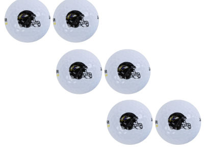 Baltimore Ravens 6pk Team Logo Golf Balls