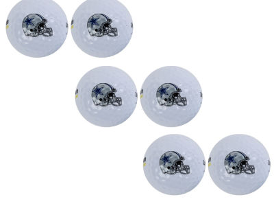 Dallas Cowboys 6pk Team Logo Golf Balls