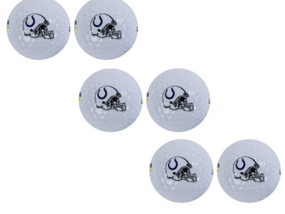 Indianapolis Colts 6pk Team Logo Golf Balls