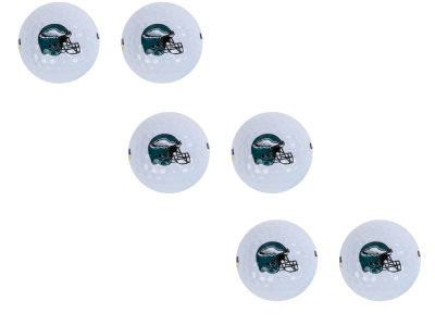 Philadelphia Eagles 6pk Team Logo Golf Balls