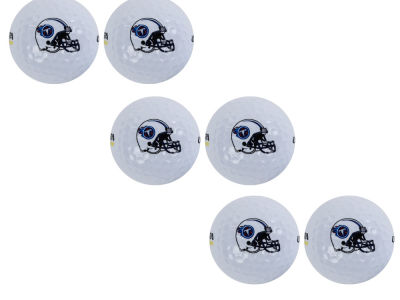 Tennessee Titans 6pk Team Logo Golf Balls
