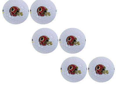 Washington Redskins 6pk Team Logo Golf Balls