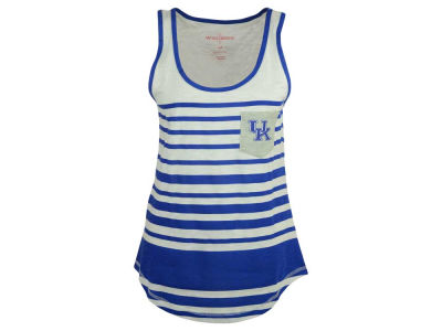 Kentucky Wildcats NCAA 2015 Women's Striped Pocket Tank