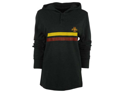 Iowa State Cyclones NCAA Men's Wayfarer Screened Stripes Pullover Hoodie