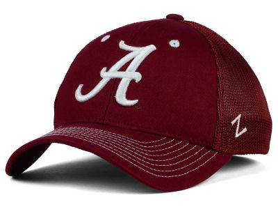 Alabama Crimson Tide Zephyr NCAA Screenplay Flex Hat