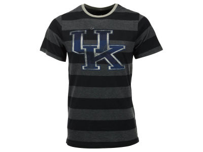 Kentucky Wildcats NCAA Men's Whiz Kid Striped Short Sleeve T-Shirt