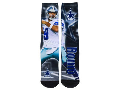 Dallas Cowboys Tony Romo NFL Youth Drive Player Jersey Crew Socks