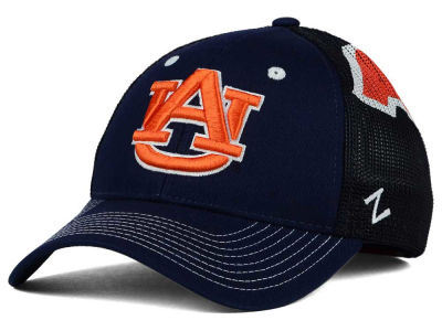 Auburn Tigers Zephyr NCAA Screenplay Flex Hat