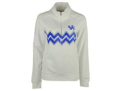 Kentucky Wildcats NCAA Women's Alpine ZigZag Quarter Zip Pullover Sweatshirt