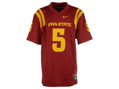 Iowa State Cyclones Nike NCAA Youth Replica Football Game Jersey