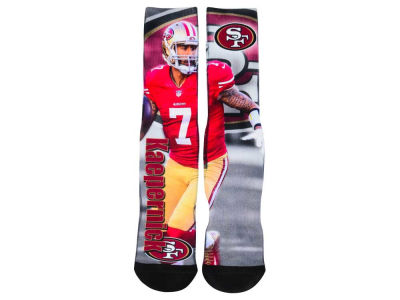 San Francisco 49ers Colin Kaepernick NFL Youth Drive Player Jersey Crew Socks