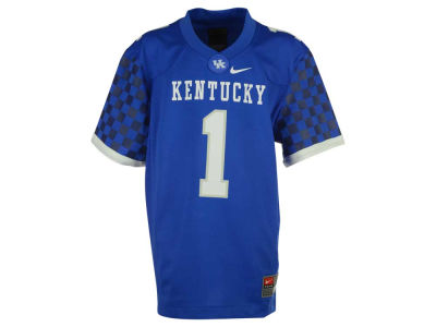 Kentucky Wildcats Nike NCAA Youth Replica Football Game Jersey