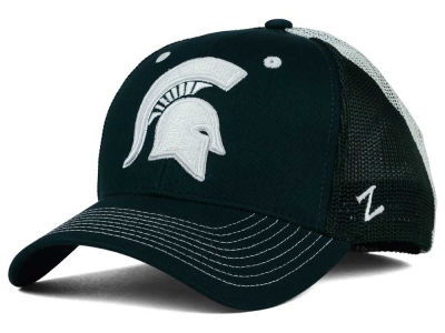 Michigan State Spartans Zephyr NCAA Screenplay Flex Hat