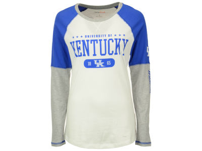 Kentucky Wildcats NCAA Womens Block & Tackle Long Sleeve T-Shirt