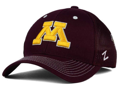 Minnesota Golden Gophers Zephyr NCAA Screenplay Flex Hat