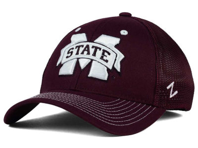 Mississippi State Bulldogs Zephyr NCAA Screenplay Flex Hat