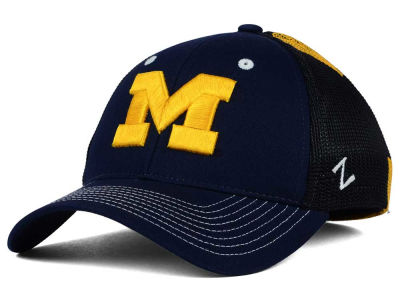 Michigan Wolverines Zephyr NCAA Screenplay Flex Hat