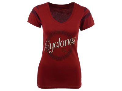 Iowa State Cyclones NCAA Women's Kailey Short Sleeve V-Neck T-Shirt