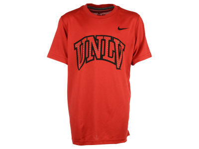 UNLV Runnin Rebels Nike NCAA Youth Dri-Fit Legend Logo T-Shirt
