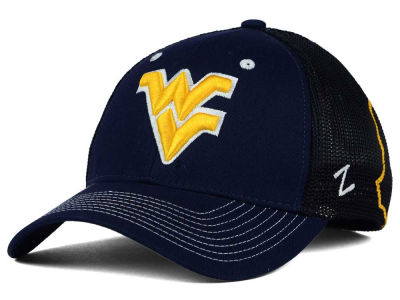 West Virginia Mountaineers Zephyr NCAA Screenplay Flex Hat