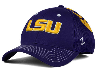 LSU Tigers Zephyr NCAA Screenplay Flex Hat