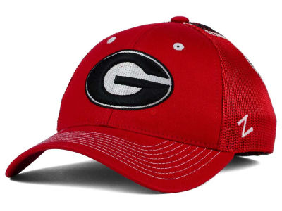 Georgia Bulldogs Zephyr NCAA Screenplay Flex Hat