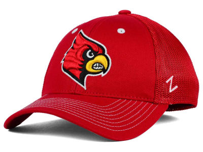 Louisville Cardinals Zephyr NCAA Screenplay Flex Hat