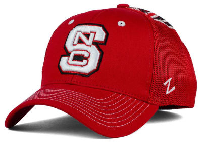 North Carolina State Wolfpack Zephyr NCAA Screenplay Flex Hat