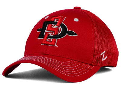 San Diego State Aztecs Zephyr NCAA Screenplay Flex Hat