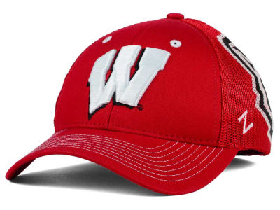 Wisconsin Badgers Zephyr NCAA Screenplay Flex Hat